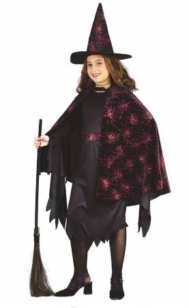 Costumes For All Occasions Fw5836Sm Witch Glitter Chip Child Sm