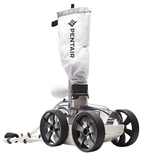 Pentair LL505PMG Kreepy Krauly Platinum Pressure-Side Inground Automatic Pool Cleaner, Gray