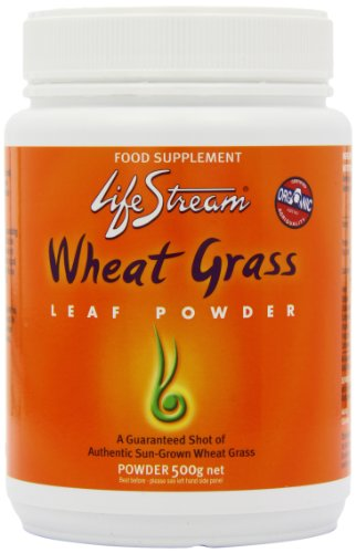 Lifestream Organic Wheat Grass Powder 500g