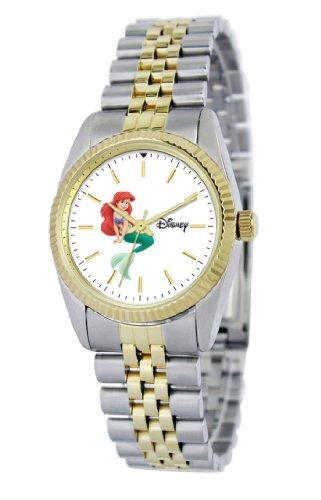Disney Women's D122S776 Ariel Two-Tone Bracelet Watch