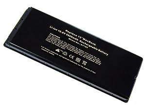 "Super-Capacity Li-ion Battery For Apple A1185 MacBook Pro 13 Series MA254B A MB062X A MA254 A1181 MA472 MA472B A MA701 MA701B A MB063 A MB063B A MB063CH A series replace A1185 MA566 MA566FE A MA566G A MA566J A series Ac Laptop Notebook Main Battery [ 5600mAh 6 Cells] """