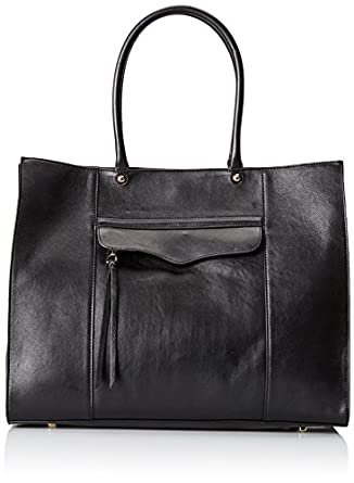 Rebecca Minkoff MAB Tote Handbag ,Black,One Size