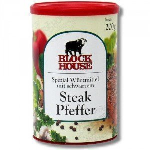 Block House Steak Pfeffer