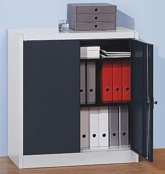 Ailes Porte Armoire, LxPxH 950x 420x 1016mm, 2Vernis. sols, 65kg/Fond, gris clair/gris clair