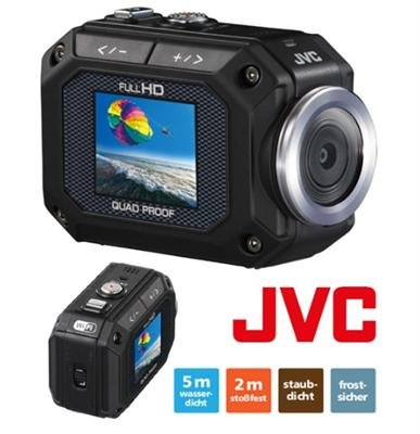 JVC ADIXXION Full HD Action Kamera - Wasserdicht - 835102000