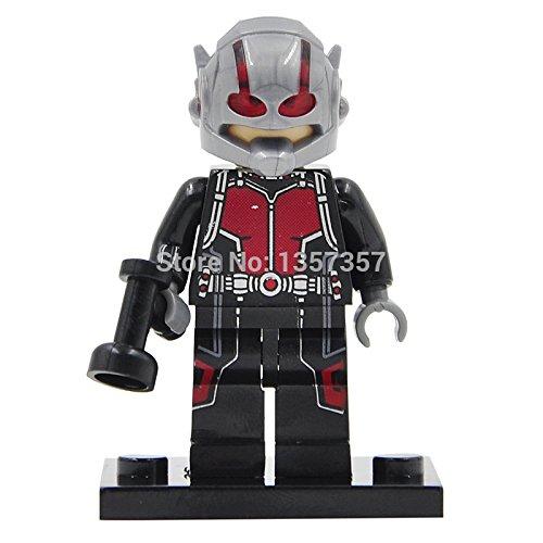 ANT-MAN Scott Lang Minifigures Single Sale Marvel Super Heroes Avengers Building Blocks Sets Model Bricks Toys