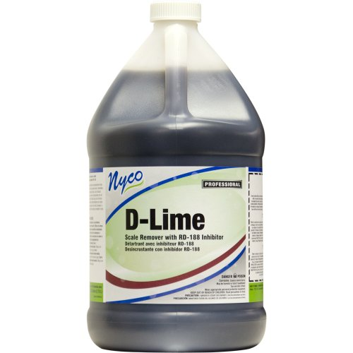 Nyco Products Nl008-G4 D-Lime Scale Remover, 1-Gallon Bottle (Case Of 4) front-399381