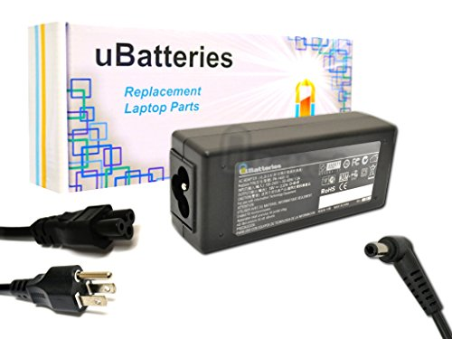 UBatteries Laptop AC Adapter Charger Toshiba Satellite L675-01R - 45W, 19V
