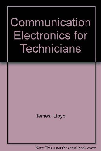 Communication Electronics for Technicians