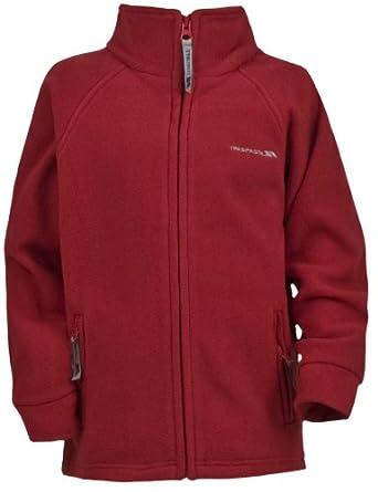 "Mens TRESPASS KAZAN Performance Airtrap Fleece Jacket Red Size XXL 47-49"""
