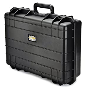 Vault Case Waterproof Airtight Case, Black, 7-Inch