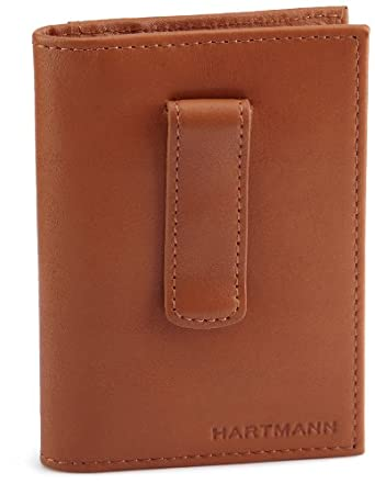Hartmann Belting Leather All In One Wallet,Natural,One Size