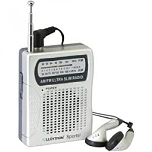 Lloytron N2001SV Sports2 AM/FM Personal Radio