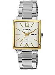 OMAX ANALOG WHITE DIAL FORMAL WATCH FOR MEN (MONTRES OMAX S.A. - A SWISS WATCH COMPANY)