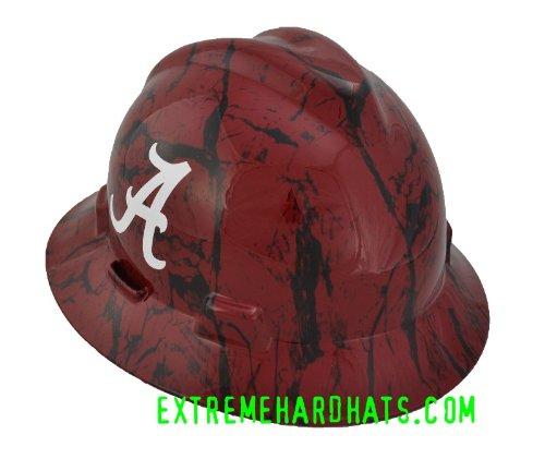 Real Carbon Fiber Hard Hat: Alabama Crimson Tide Camo Hat, Alabama Camouflage Cap