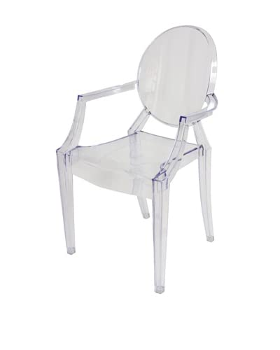 Control Brand The Ghost Chair, Clear