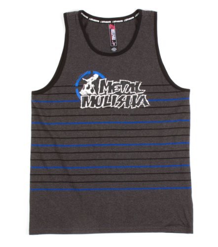 Metal Mulisha - Mens Response Tank Top, Size: Small, Color: Dark Charcoal Heather