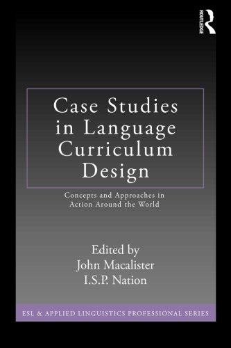 Case Studies in Language Curriculum Design: Concepts and...