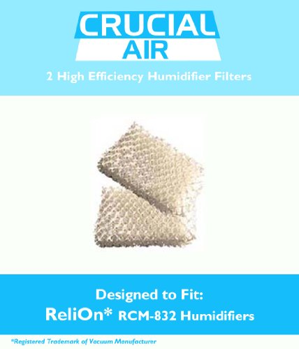 ReliOn WF813 2-Pack Humidifier Wicking Filters - 1
