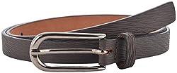 Garvan Women's Brown Leather Belt (LBW 6-Brown, Size : 32)
