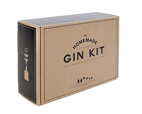 Gin Kit with 2 Glass Bottles(375Ml), Stainless Funnel & Strainer & More (Gin Making compare prices)