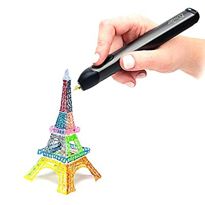 3Doodler 2.0 Printing pen with 25 strands of ABS plastic + 25 strands of PLA plastic