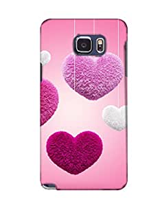 Pick Pattern Back Cover for Samsung Galaxy Note5