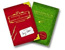 Harry Potter Schoolbooks: Quidditch Through the Ages and Fantastic Beasts and Where to Find Them