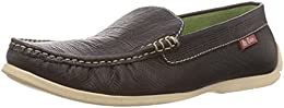 Lee Cooper Mens Leather Casual Loafers