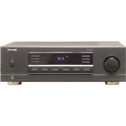 Sherwood 400 watt dual zone multi source stereo receiver for Multi zone receiver yamaha