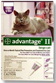 Advantage II Cat 9+ Purple, Single Dose