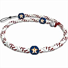 GameWear CFR-MLB-HOA-1-C Houston Astros Classic Frozen Rope Baseball Necklace in... by GameWear
