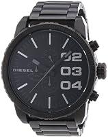 Diesel - DZ4207 - Montre Homme - Quartz Analogique - Cadran Noir - Bracelet Acier Inoxydable Noir