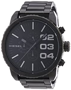 diesel herren armbanduhr xl franchise 51 chronograph quarz edelstahl dz4207 uhren. Black Bedroom Furniture Sets. Home Design Ideas