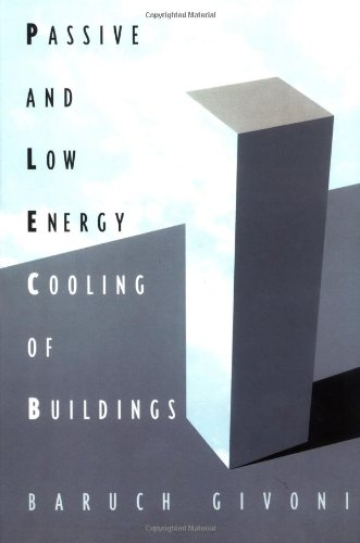 Passive Low Energy Cooling of Buildings (Architecture)
