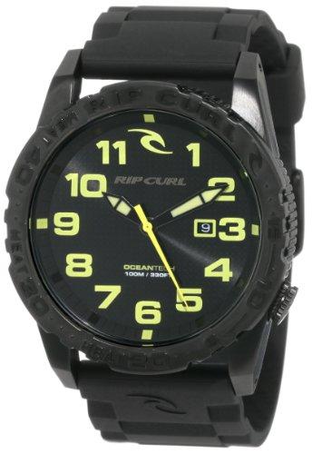 1a1f4c40dd13 Rip Curl Men s A2484 MLM Cortez Two XL Midnight Polyurethane Sport Bezel  Watch