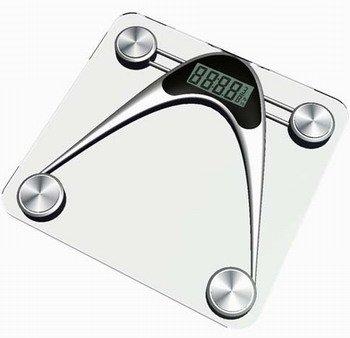 Cheap Newline Athletic Digital Glass Bathroom Scale, SEB0306-SL (SEB0306-SL)