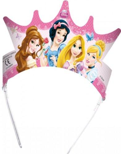 pack diademas fiesta princesas disney glamour