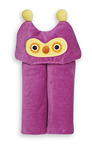 GUND Kids Owl Hooded Towel, Owl, 24'' By 48''