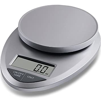 EatSmart Precision Pro Digital Kitchen Scale, Silver