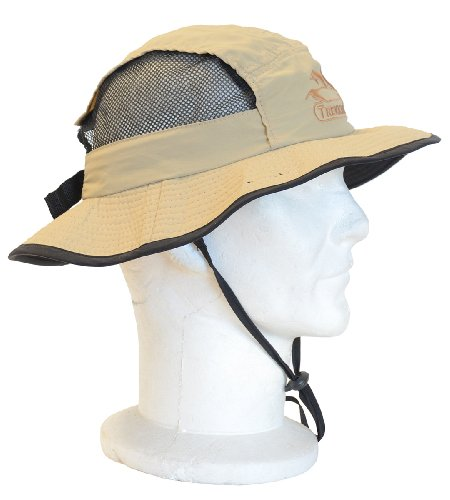TREKKING-1142-Tropical brim hat-air ventilation-bush outback