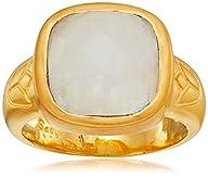 Satya Jewelry Moonstone Square Lotus…