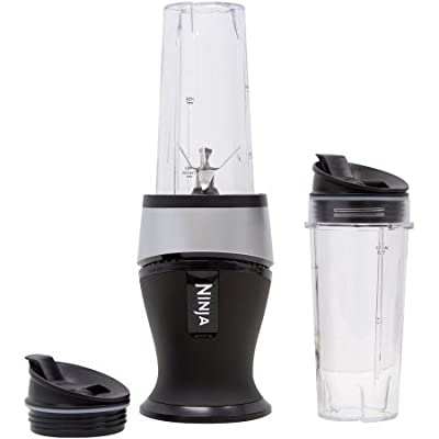 Ninja Fit Blender, Stainless Steel, 700W power pod with Pulse Technology