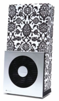 Image of Blueair AirPod Personal Air Purifier - Black Paisley Design (B000JG5QZE)