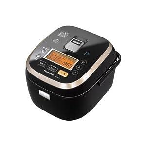 Panasonic 大火力おどり炊き×エコナビ×スマート スチームIHジャー炊飯器 1.0L 0.5~5.5合 ブラック SR-SX103-K