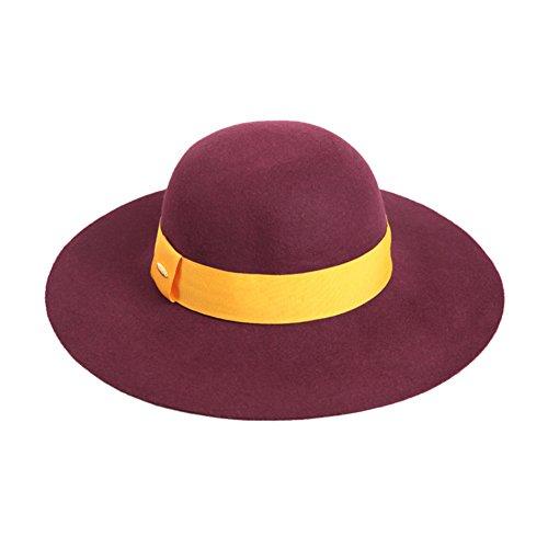 cappello di lana di inverno/Cappello di Joker di shopping moda festa/ cappello Inghilterra/ cappello di feltro di lana elegante e cappello di feltro di donne d'Inghilterra-G regolabile