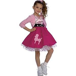 Rubie's Fifties Girl Child's Costume, Medium