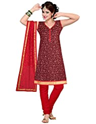 Elan Vital Women's Silk Cotton Straight Salwar Suit - B0188YGKRG