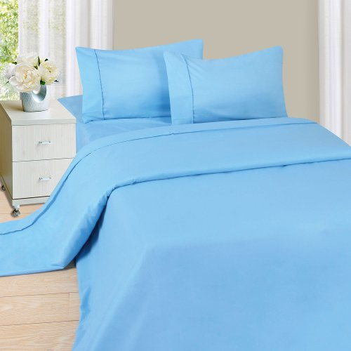 Lavish Home 1200 Sheet Series, Twin X-Large, Blue front-549589