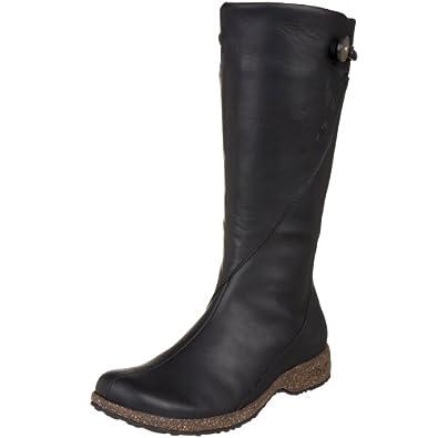 Teva Women's Montecito Leather Boot,Jet Black,10 M